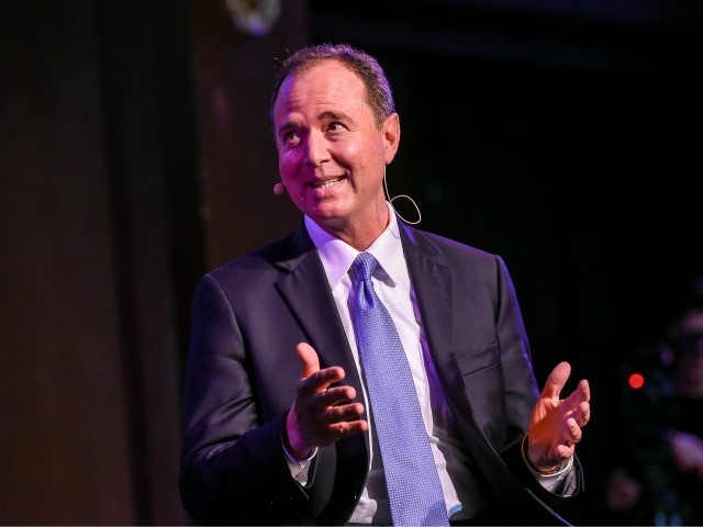 NEW YORK, NY - OCTOBER 05: Democratic Representative Adam Schiff speaks during The 2018 New Yorker Festival - Andy Borowitz Brings His Popular Column, The Borowitz Report, To Life Onstage Featuring Democratic Representative Adam Schiff From California at Ethical Culture on October 5, 2018 in New York City. (Photo by …