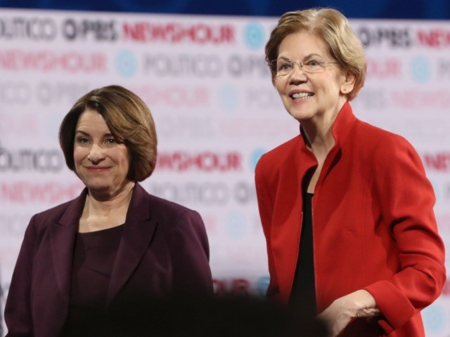 New York Times endorses Elizabeth Warren and Amy Klobuchar for Democratic nomination