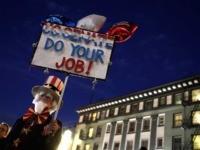 Anti-Trump protest Senate San Francisco (Justin Sullivan / Getty)