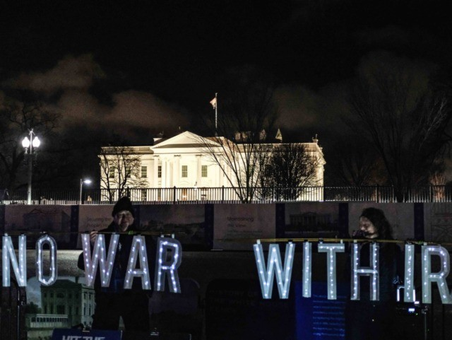 Anti-war protest (Alex Wroblewski / Getty)