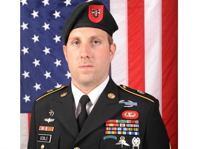 Army Green Beret Sgt. 1st Class Michael James Goble