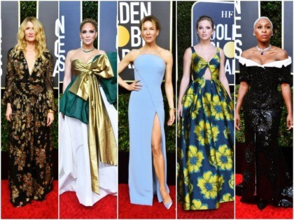 The 77th Golden Globes red carpet felt extra star-studded this year, with some of Hollywood's most famous A-listers coming out to play in their beaded gowns, Chopard jewels, and sky-high stilettos.