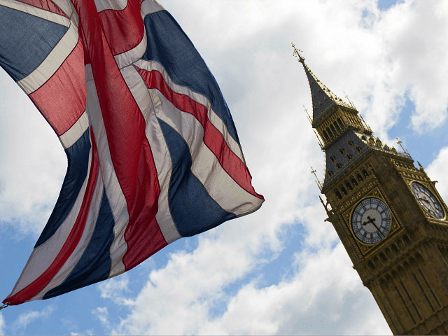 A Union flag lies from a flagpole opposite the Elizabeth Tower, commonly reffered to as Big Ben, at the Houses of Parliament in central London on June 7, 2017. Britain on Wednesday headed into the final day of campaigning for a general election darkened and dominated by jihadist attacks in …