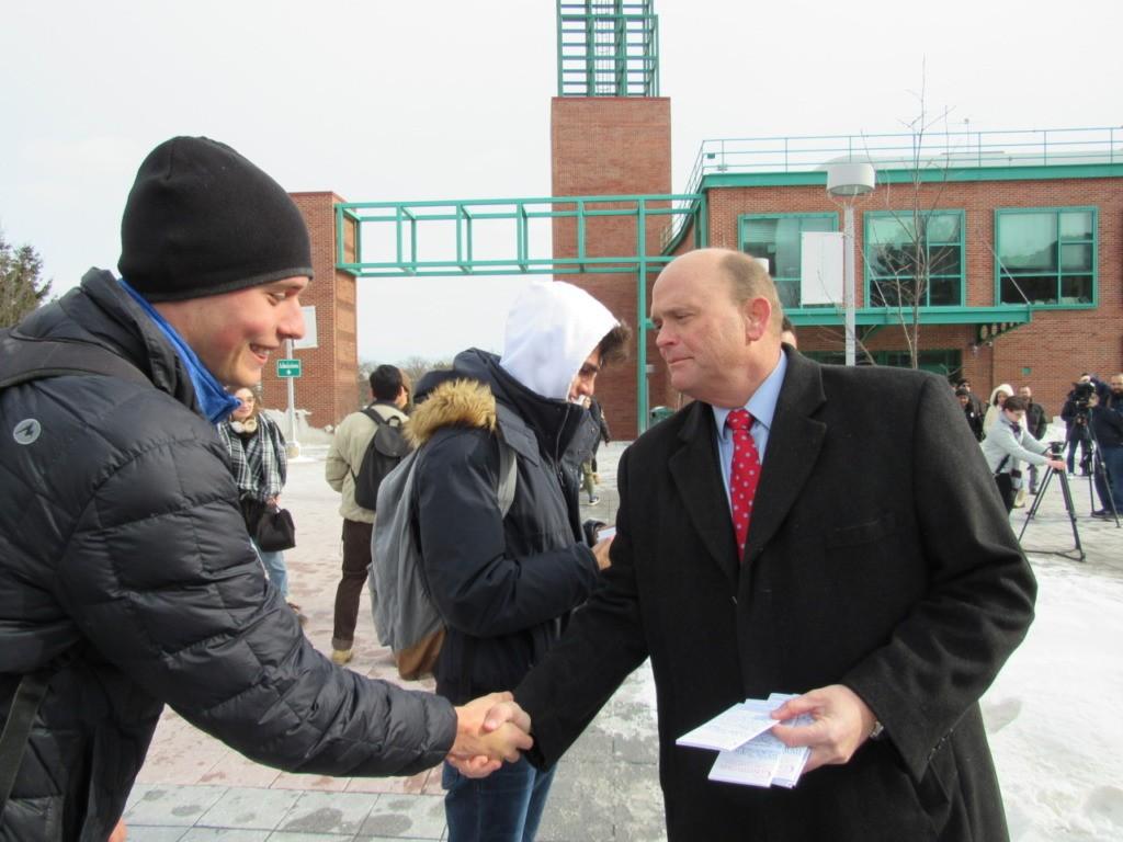 Binghamton with Tom Reed