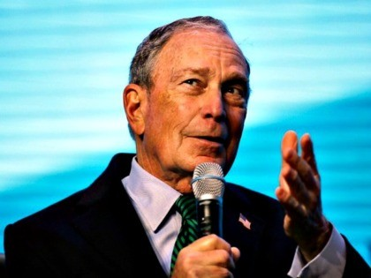 Bloomberg, Blue Background