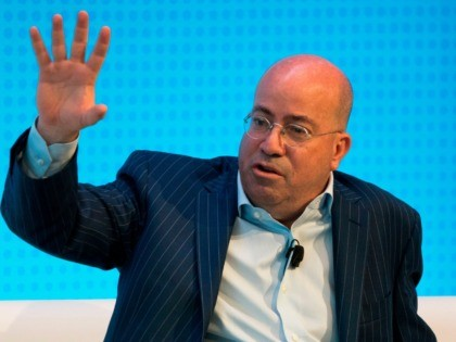 Jeff Zucker, President of CNN, is interviewed during a Financial Times Future of News event March 22, 2018 in New York. / AFP PHOTO / Don EMMERT (Photo credit should read DON EMMERT/AFP via Getty Images)
