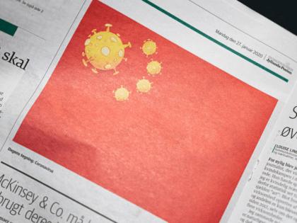 China Virus Flag