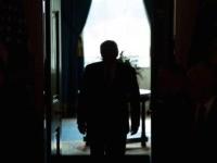 Donald Trump silhouette (Saul Loeb / AFP / Getty)