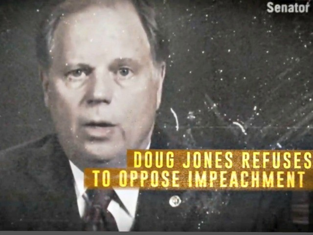 Doug Jones Anti-Impeachment Ad from AFP