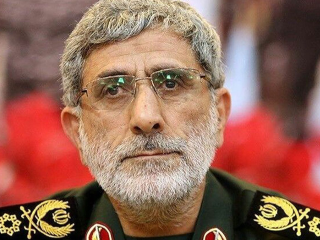 Brigadier. Gen. Esmail Qaani is now the new commander of the Revolutionary Guard's Quds Force -- and he is no stranger to the U.S. (AP/Office of the Iranian Supreme Leader)