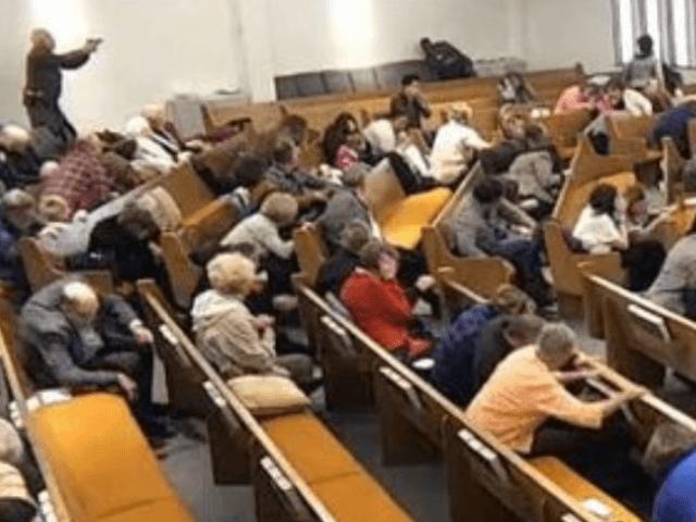 Fort Worth Church Surveillance Video