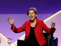 Democratic presidential candidate U.S. Sen. Elizabeth Warren (D-MA) participates in a Presidential Candidates Forum at the NAACP 110th National Convention on July 24, 2019 in Detroit, Michigan. The theme of this years Convention is, When We Fight, We Win. (Photo by Bill Pugliano/Getty Images)