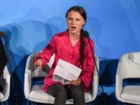 Youth activist Greta Thunberg speaks at the Climate Action Summit at the United Nations on September 23, 2019 in New York City. While the United States will not be participating, China and about 70 other countries are expected to make announcements concerning climate change. The summit at the U.N. comes …