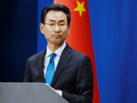 "Chinas Ministry of Foreign Affairs spokesman Geng Shuang listens to a question during a briefing in Beijing on November 28, 2019. - China's foreign ministry summoned the US ambassador on November 28, urging Washington to refrain from applying a bill supporting Hong Kong's pro-democracy movement to ""avoid further damage"" to …"