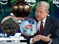 Al Gore Spreads Climate Fear in Davos: 'This Is Thermopylae… Dunkirk… 9/11'