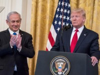 Donald Trump Announces 'New Dawn' Middle East Peace Deal with Bibi Netanyahu