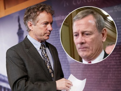 Rand Paul Reveals Impeachment Question Censored by Chief Justice John Roberts