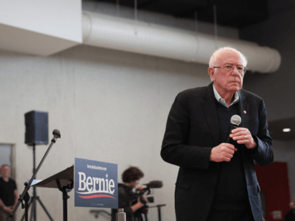 Democratic presidential candidate Sen. Bernie Sanders (I-VT) speaks to guests during a campaign stop at Berg Middle School on January 11, 2020 in Newton, Iowa. A recent poll has Sanders with a narrow lead in the state ahead of the 2020 Iowa Democratic caucuses being held on February 3. Rep. …
