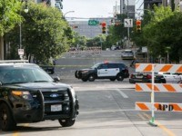 Austin Police Department crime scene on Sixth Street. (File Photo: Drew Anthony Smith/Getty Images)
