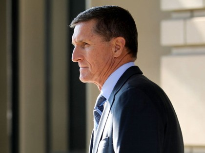 WASHINGTON, DC - DECEMBER 01: Michael Flynn, former national security advisor to President Donald Trump, leaves following his plea hearing at the Prettyman Federal Courthouse December 1, 2017 in Washington, DC. Special Counsel Robert Mueller charged Flynn with one count of making a false statement to the FBI. (Photo by …