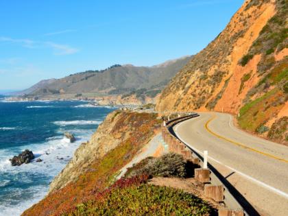California cliff