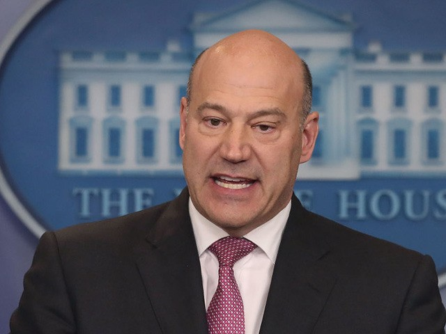 WASHINGTON, DC - JANUARY 23: Gary Cohn, White House Economic Advisor, briefs reporters on President Donald Trump's upcoming trip to the World Economic Forum later this week in Davos Switzerland, at the White House on January 23, 2018 in Washington, DC. (Photo by Mark Wilson/Getty Images)