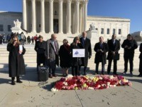 Watch Live: Pro-Life Advocates Lay 3,000 Flowers Outside SCOTUS to Remember Preborn