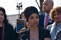Rep. Ilhan Omar on 'Muslim Ban': Trump Building 'Invisible Wall'