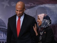 Cory Booker and Ilhan Omar (Alex Wong / Getty)