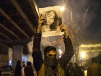 Iran protests (STR / AFP via Getty)