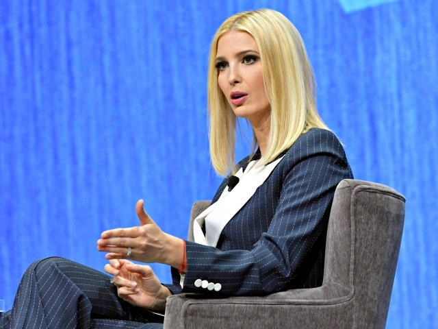 LAS VEGAS, NV - JANUARY 7: Ivanka Trump, Advisor to the President, at The Path To The Future Of Work Keynote Talk during CES 2020 at the Palazzo Ballroom at The Venetian Hotel and Casino in Las Vegas, Nevada on January 7, 2020. Credit: Damairs Carter/MediaPunch /IPX