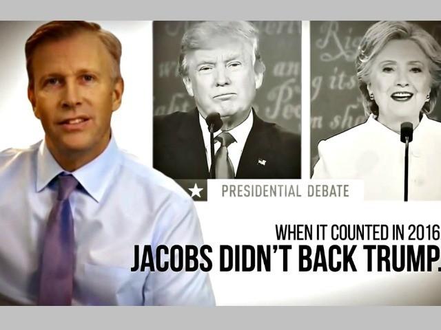 Jacobs Didn't Back Trump