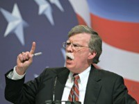Former U.N. Ambassador John Bolton addresses the Conservative Political Action Conference (CPAC) in Washington Saturday, Feb. 20, 2010. (AP Photo/Jose Luis Magana)