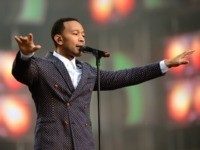 "LONDON, ENGLAND - JUNE 01: Singer John Legend performs on stage at the ""Chime For Change: The Sound Of Change Live"" Concert at Twickenham Stadium on June 1, 2013 in London, England. Chime For Change is a global campaign for girls' and women's empowerment founded by Gucci with a founding …"