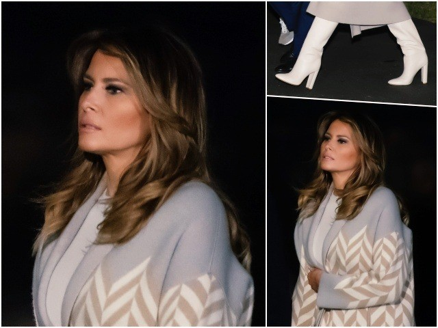 First Lady Melania Trump arrived at the White House from …