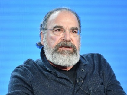 "PASADENA, CALIFORNIA - JANUARY 13: Mandy Patinkin of ""Homeland"" speaks during the Showtime segment of the 2020 Winter TCA Press Tour at The Langham Huntington, Pasadena on January 13, 2020 in Pasadena, California. (Photo by Amy Sussman/Getty Images)"