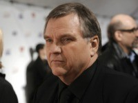 Singer Michael Lee Aday, who goes by the stage name Meat Loaf, arrives at the MusiCares Person of the Year tribute honoring Neil Diamond on Friday, Feb. 6, 2009, in Los Angeles. (AP Photo/Chris Pizzello)