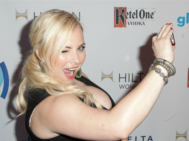 Meghan McCain arrives to the 25th Annual GLAAD Media Awards - Dinner and Show on April 12, 2014 in Los Angeles, California. (Photo by Gabriel Olsen/Getty Images for GLAAD)