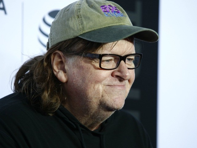 Filmmaker Michael Moore attends the 'Taxi Driver' 40th Anniversary Celebration during the 2016 Tribeca Film Festival at The Beacon Theatre in New York on April 21, 2016. / AFP / KENA BETANCUR (Photo credit should read KENA BETANCUR/AFP via Getty Images)