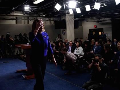 Nancy Pelosi press conference (Brendan Smialowski / AFP / Getty)