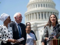 Omar Sanders AOC Getty