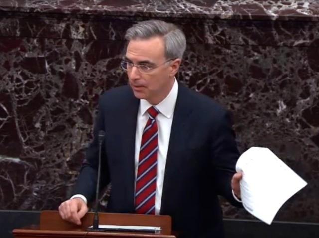 Pat Cipollone (Senate TV / Getty)