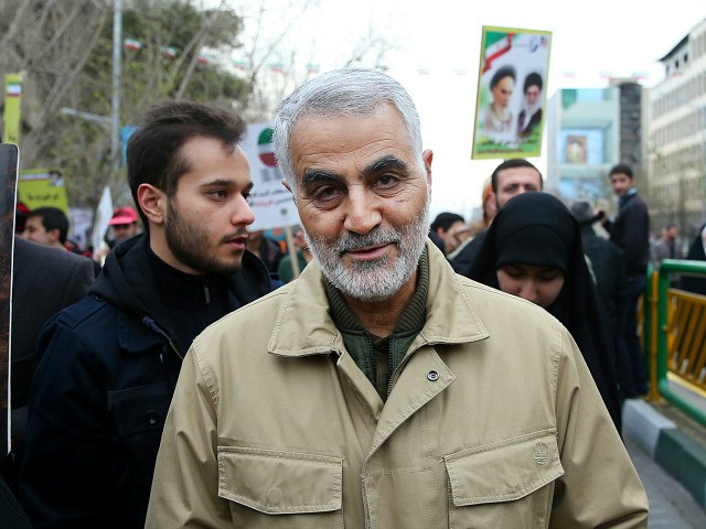 FILE - In this Thursday, Feb. 11, 2016, file photo, Qassem Soleimani, commander of Iran's Quds Force, attends an annual rally commemorating the anniversary of the 1979 Islamic revolution, in Tehran, Iran. Iraqi TV and three Iraqi officials said Friday, Jan. 3, 2020, that Gen. Qassem Soleimani, the head of …