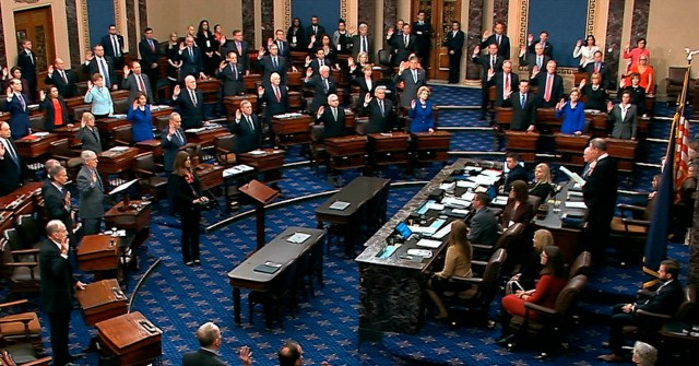 Senate swearing in impeachment trial ap 640x335 - Day Seven of President Trump Impeachment Trial