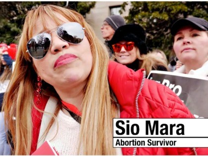 Sio Mara, Abortion Survivor