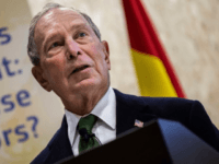 Bloomberg Is Spending All His Money to 'Get Rid of Donald Trump'