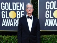 Tim Cook at Golden Globes