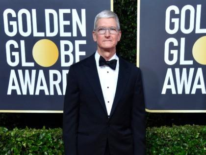 Tim Cook at Golden Globes