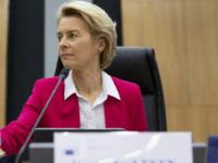 European Commission President Ursula von der Leyen rings a bell to signal the start of an extraordinary meeting of the EU college of commissioners at EU headquarters in Brussels, Wednesday, Jan. 8, 2020. European Union foreign policy chief Josep Borrell is expected to brief the college on Wednesday regarding the …