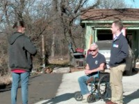 VIDEO: Anonymous Donor Gives Disabled Veteran $400 to Fix Driveway